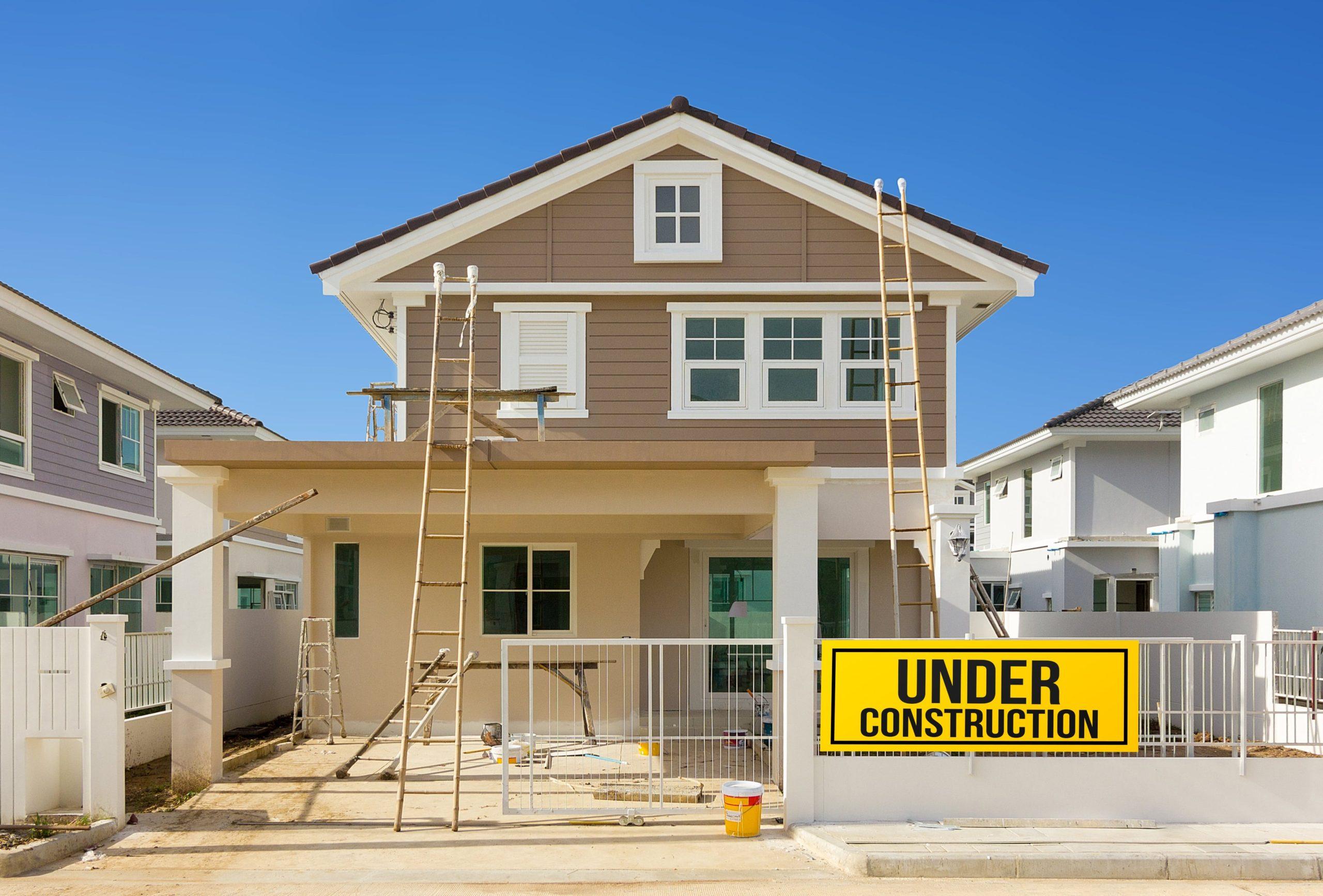 foto casa en construccion