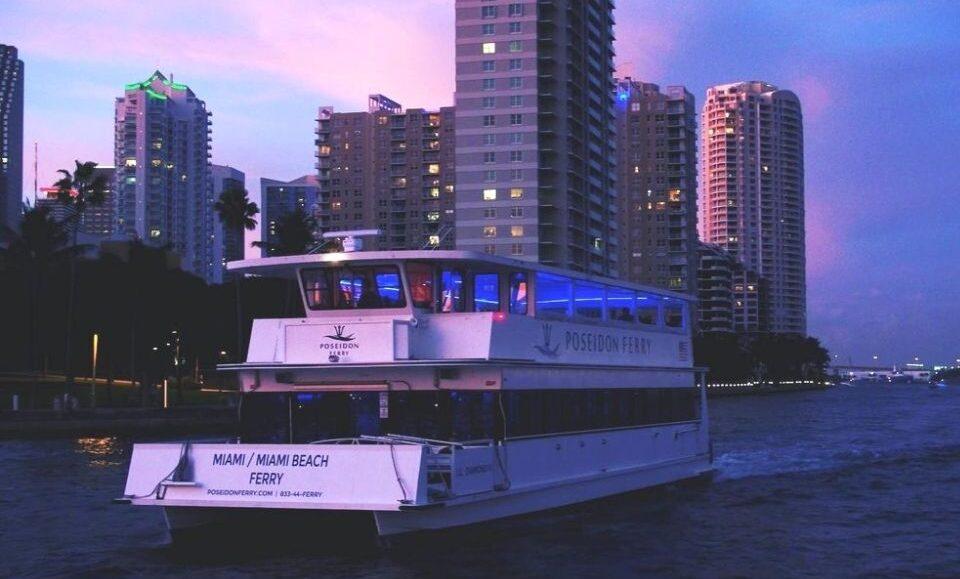 Downtown Miami a Miami Beach